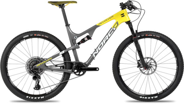 Norco Revolver 7.1 FS Color: Grey/Yellow/White