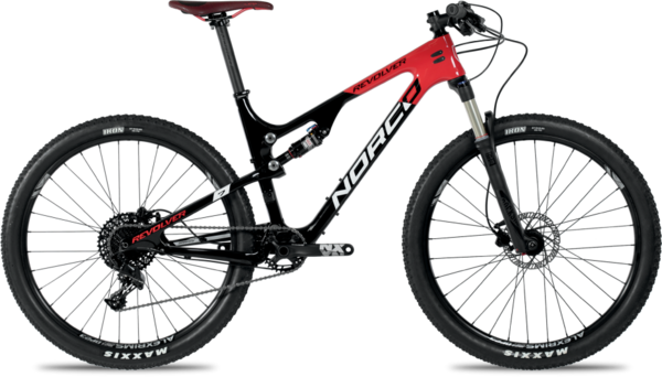 Norco Revolver 7.3 FS Color: Black/Red/White