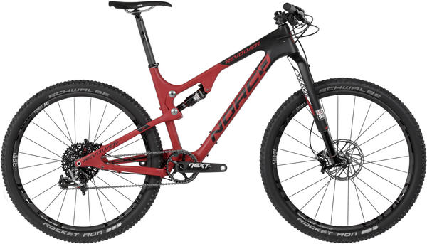 Norco Revolver 7XX Color: Red/Black