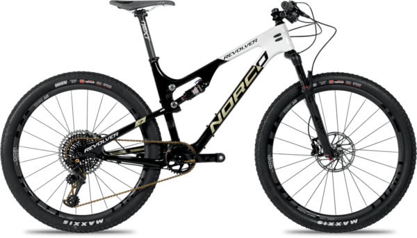 Norco Revolver 7XX1 FS Color: Black/White/Gold
