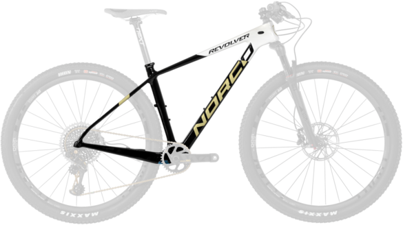 Norco Revolver 9XX1 HT Framekit Color: Black/White/Gold