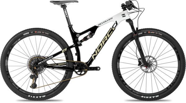 Norco Revolver 9XX1 FS Color: Black/White/Gold
