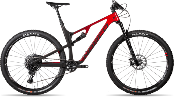 Norco Revolver FS 1 120 Color: Grey/Red