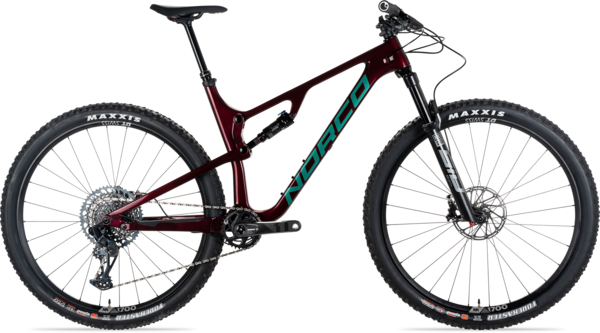 Norco Revolver FS 1 120 Color: Red/Green