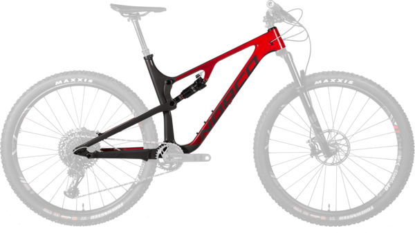 Norco Revolver FS 100 Frame Color: Black/Red