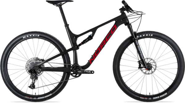 Norco Revolver FS 2 100 Color: Black/Red