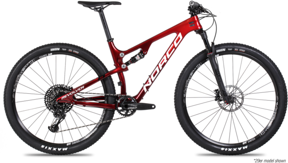 Norco Revolver FS 2 Color: Red Fade/White/Black