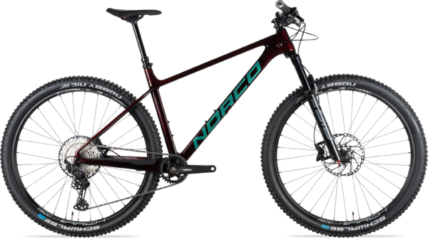 Norco Revolver HT 2 120 Color: Red/Green