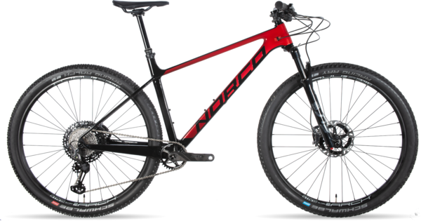 Norco Revolver HT XTR 100 Color: Red Fade