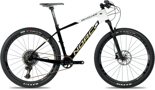 Norco Revolver 7XX1 HT Color: Black/White/Gold