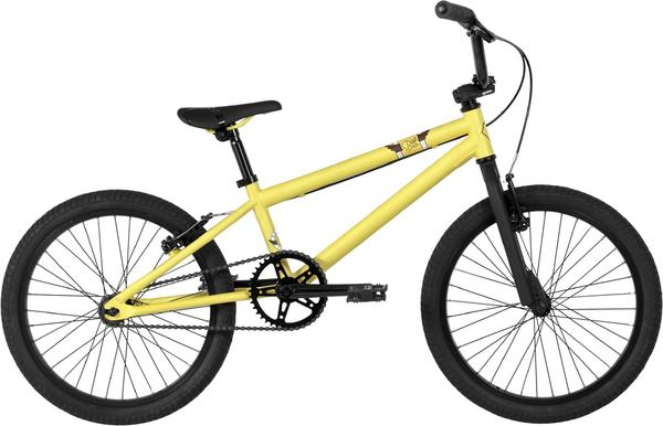 Norco Rise 18 BMX Color: Yellow/White/Brown