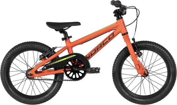 Norco Samurai 16 Color: Bright Orange/Light Green/Black