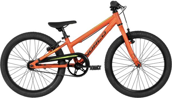 Norco Samurai 20 Color: Bright Orange/Light Green/Black