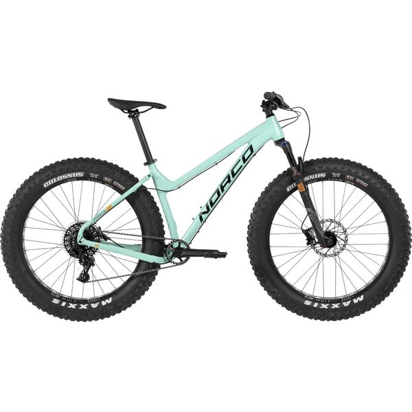 Norco Sasquatch 6.1 Color: Teal/Orange/Black