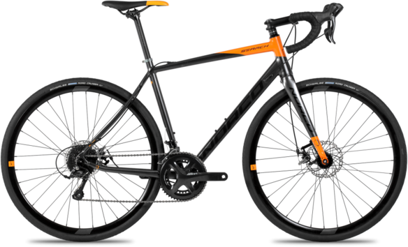 Norco Search A Sora Color: Orange/Charcoal
