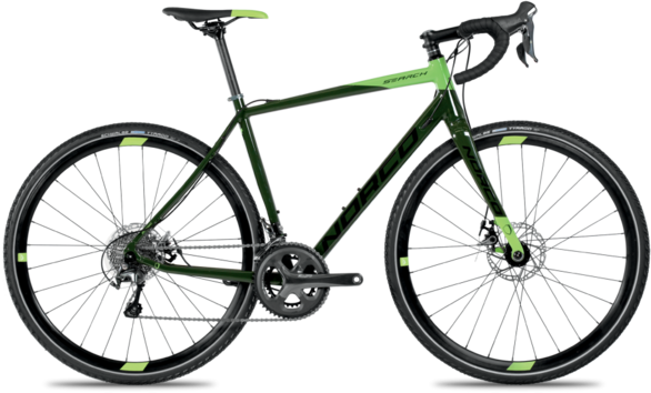 Norco Search A Tiagra Color: Dark Green/Lime