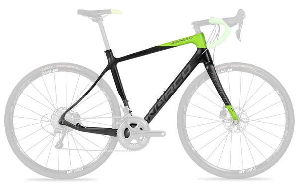 Norco Search C Framekit Color: Green/Grey