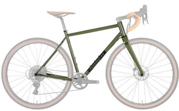 Norco Search XR Steel Frame/Fork Color: Army Green