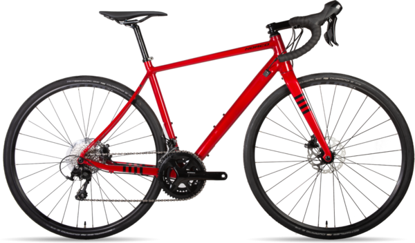 Norco Section Aluminum 105 Color: Red
