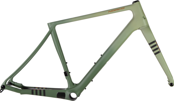 Norco Section Carbon Frame/Fork Color: Black/Copper