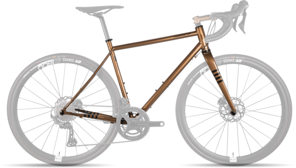 Norco Section Steel Frame/Fork Color: Metallic Brown