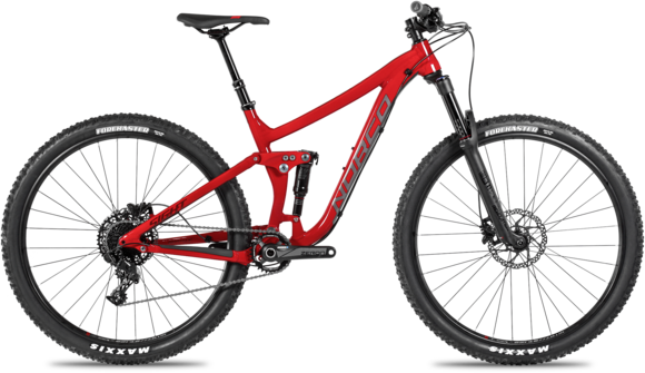 Norco Sight A3 Color: Red/Black