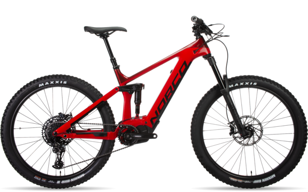 Norco Sight VLT C2 Color: Deep Red/Cherry Red
