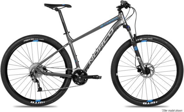 Norco Storm 1 Color: Charcoal/Blue
