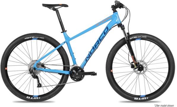Norco Storm 2 Color: Navy Blue/Orange