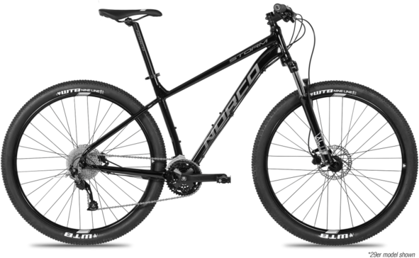 Norco Storm 3 Hydro Color: Black/Silver