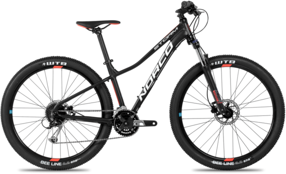Norco Storm 7.1 Forma Color: Black/Salmon/Blue