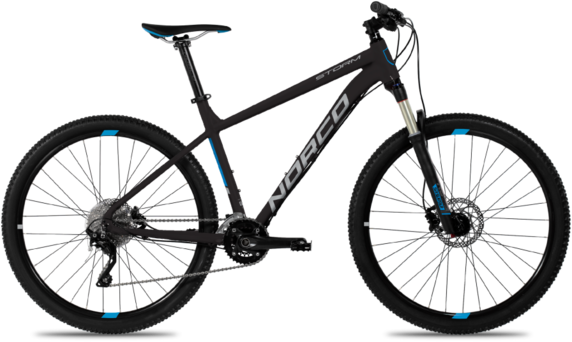 Norco Storm 7.2 Color: Black/Blue/Silver