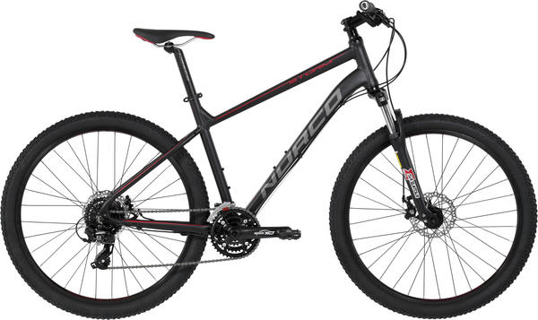 Norco Storm 7.3 Color: Black/Red/Charcoal