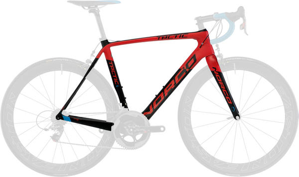 Norco Tactic SL Framekit Color: Red/Carbon