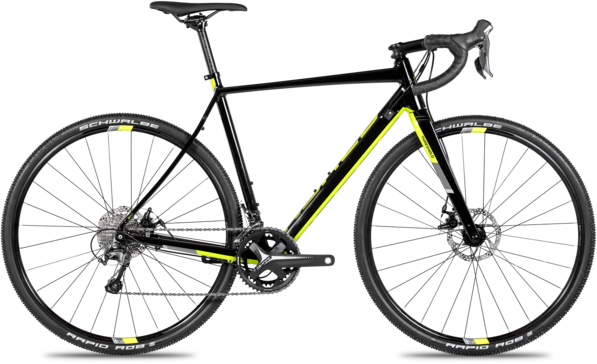 Norco Threshold A Tiagra Color: Black/Citron