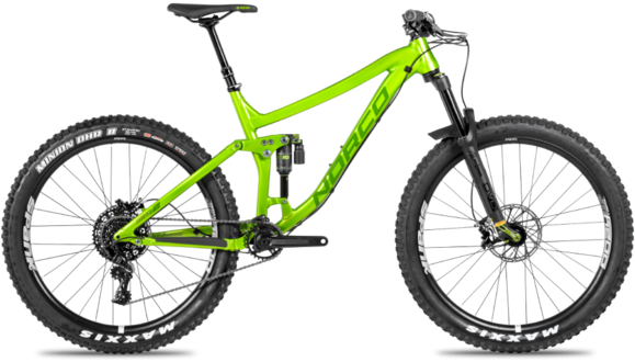Norco Torrent 1 FS Color: Green
