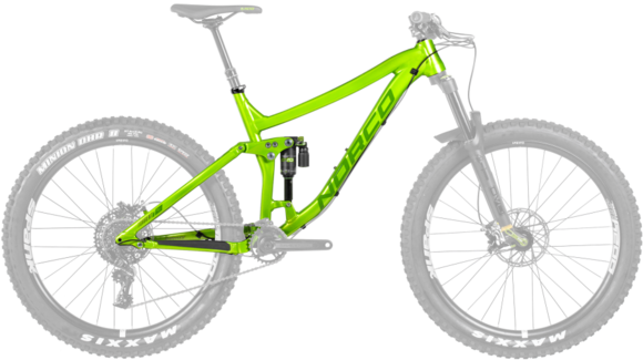 Norco Torrent 1 FS Framekit Color: Green