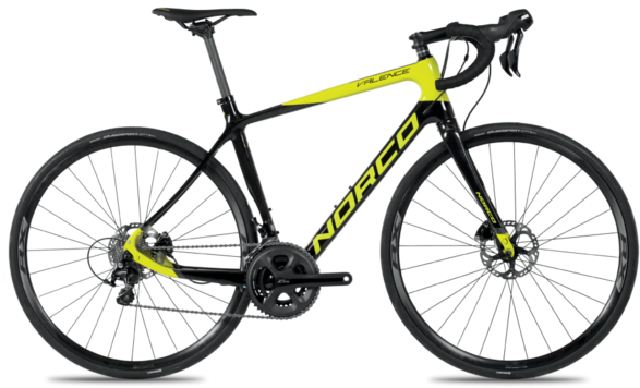 Norco Valence Disc C 105 Color: Citron/UD Carbon