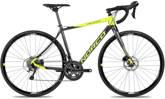 Norco Valence Disc A Tiagra RS405 Color: Citron/Charcoal