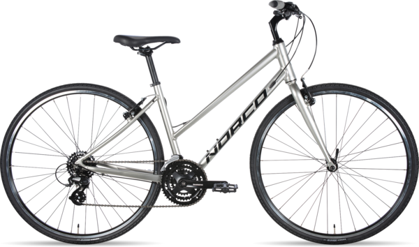 Norco VFR 2 Step-Thru Color: Silver