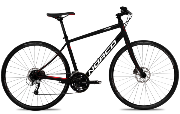 Norco VFR 5 Color: Black/Red