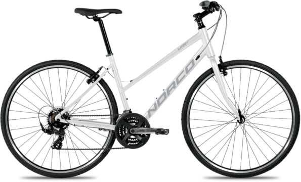 Norco VFR 6 Step-Thru Color: White/Silver