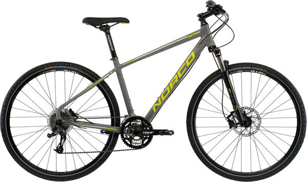 Norco XFR 1 Color: Dark Grey/Green