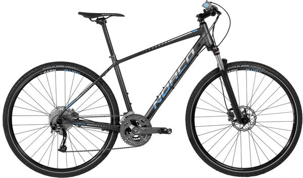 Norco XFR 2 Color: Dark Grey/Cyan