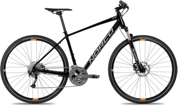 Norco XFR 2 Color: Black/Orange