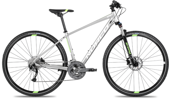 Norco XFR 2 Women's Color: Silver