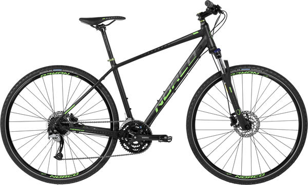 Norco XFR 3 Color: Black/Green