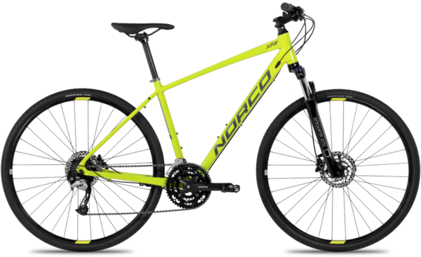 Norco XFR 3 Color: Citron/Charcoal