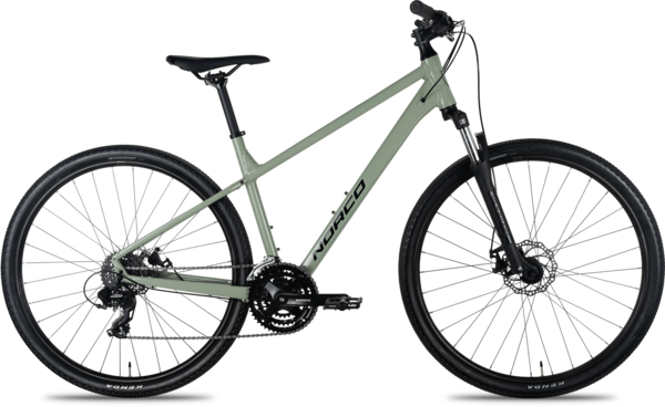 Norco XFR 3 Color: Green/Black