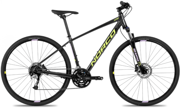Norco XFR 3 Forma Color: Dark Grey/Orchid